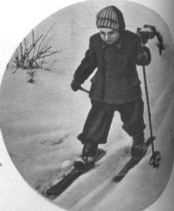 Детство на лыжах