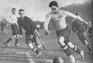 Известный советский футболист Андрей Старостин