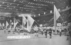 Москва хоккей 1957