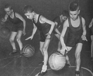 Юная смена растет в баскетболе