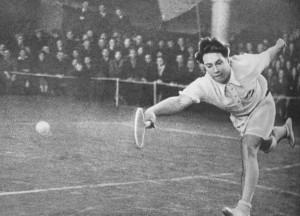 Советский теннисист Николай Озеров