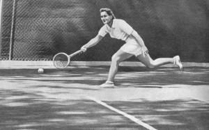 Много нового внесла в советский теннис Надежда Белоненко.