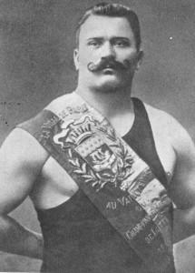 Легендарный борец Иван Поддубный