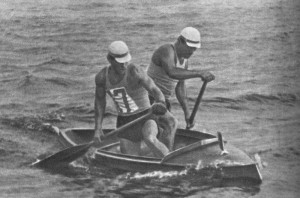 Завоевали золотую медаль на Олимпийских играх 1956г.