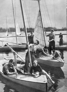 Юные яхтсмены