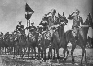 На параде конников 1936 г.