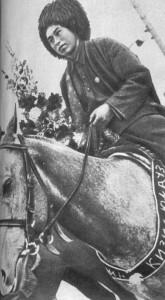 конники - туркмены.