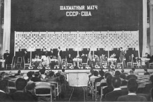 Не раз встречали наши шахматисты с мастерами шахмат США