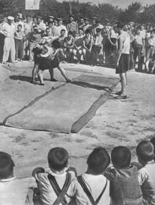 Соревнования по национальной спортивной борьбе