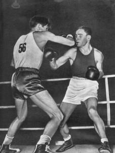 Полуфинальная встреча боксеров