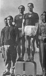 советские гребцы П. Харин и Г. Ботев,