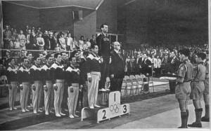 Победители в соревнованиях по гимнастике