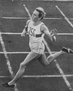 Чемпионка Европы  Евгения Сеченова