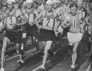 Один из самых трудных видов легкой атлетики марафонский бег