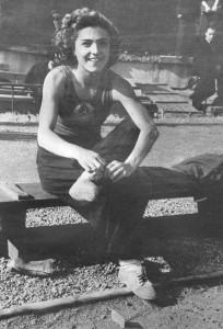 Чемпион мира СССР Галина Виноградова