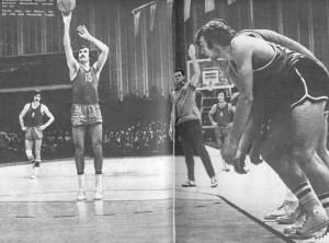 лучшие игроки советского баскетбола последних лет.