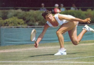 Легендарная теннисистка