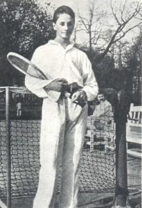 Лучший теннисист России М. Сумароков