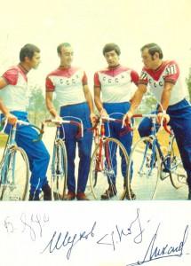 Сборная СССР по велосипедному спорту, шоссе