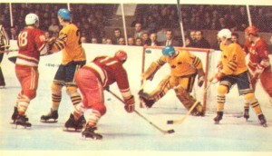 Матч по хоккею