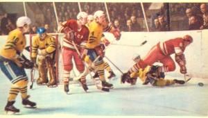Матч СССР- Швеция, фото А. Бочинина