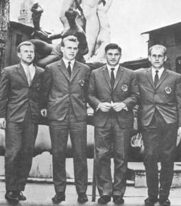 состав советской команды в играх на кубок Дэвиса
