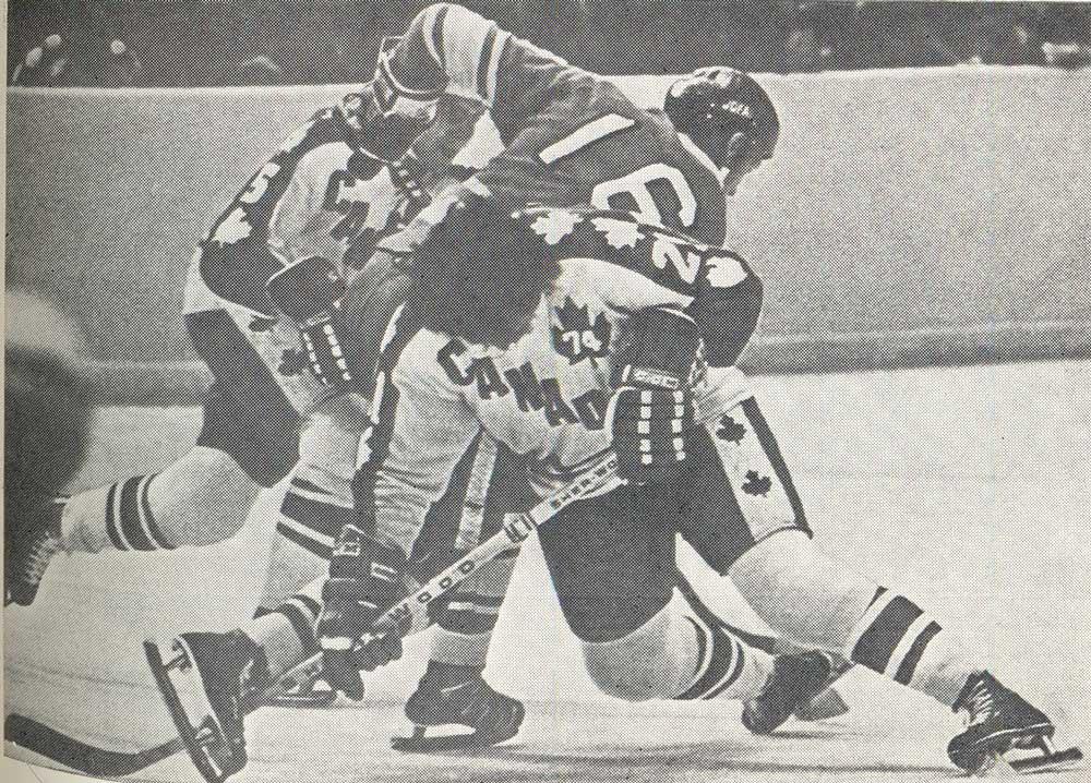 Хоккей ссср канада 1970