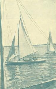 Yachts on the Volga