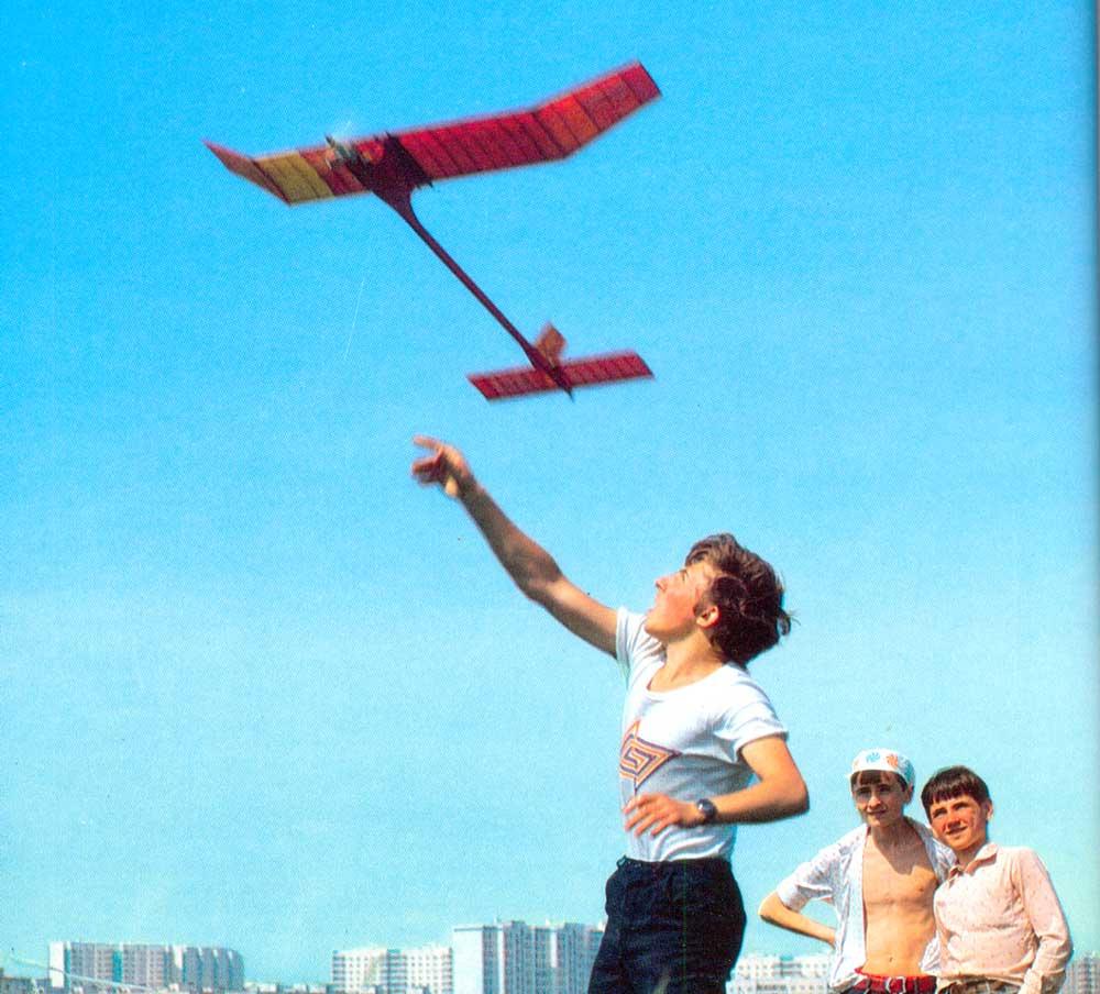 В категории авиамодельный спорт