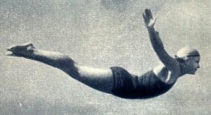 прыжки и плавание