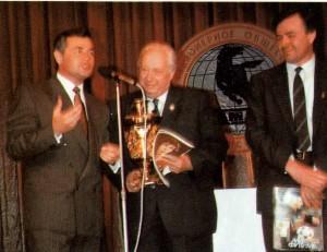 Н.Озеров и главный тренер футбольного клуба «КАМАЗ»
