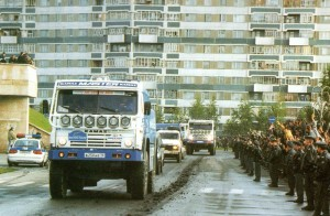 Ф.Кабиров въехал лидером в классе грузовиков