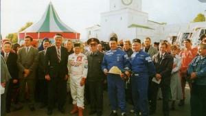 спортсмены-гонщики в Казани