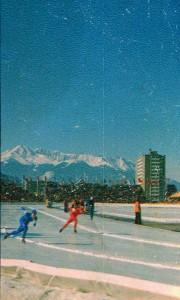 На конькобежной дорожке в Инсбруке