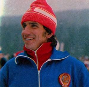 Николай Бажуков Заслуженный мастер спорта СССР (лыжные гонки)