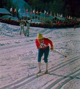 Галина Кулакова. Заслуженный мастер спорта СССР (лыжные гонки)