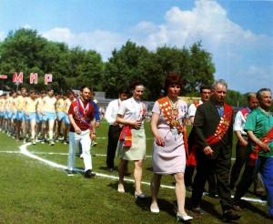 На марше - ветераны Нижегородского спорта