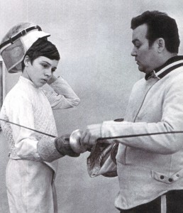 Многократный Олимпийский чемпион и одиннадцатикратный чемпион мира рапирист Герман Свешников с сыном Михаилом