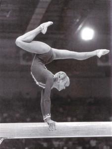 Ольга Корбут - Всемирная Универсиада - 1973 г.