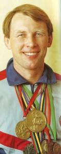 Евгений Есин - заслуженные мастера спорта, многократные чемпионы мира