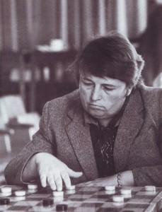 Семикратная чемпионка страны - гроссмейстер Алевтина Лазаренко