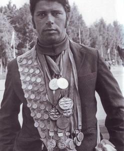 Семнадцатикратный рекордсмен мира по парашютному спорту Вячеслав Шарабанов