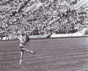 """Футбольный """"талисман"""" сборной команды Швеции. Лужники-1973"""