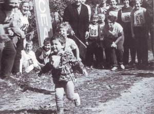 ребенок бежит