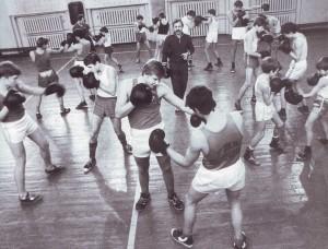 В школе бокса Нижегородских железнодорожников