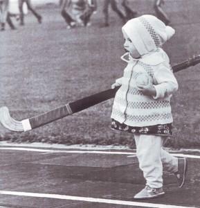 юная хоккеистка