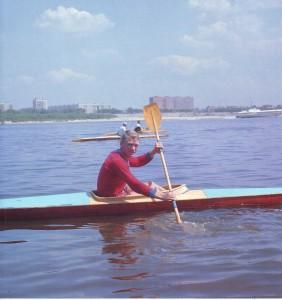На Оке, чемпион Европы Валерий Богатов