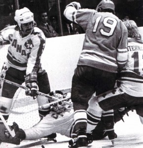 Матч сборная СССР -профессионалы Канады