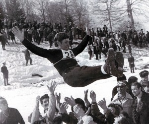 Благодарность земляков. Бакуриани. Спартакиада народов СССР - 1974 г.