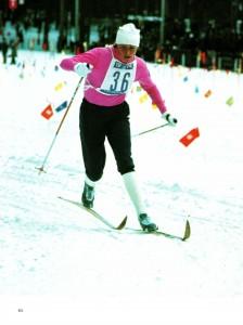 Олимпийская чемпионка Саппоро -1972 г. и чемпионка мира Алевтина Олюнина